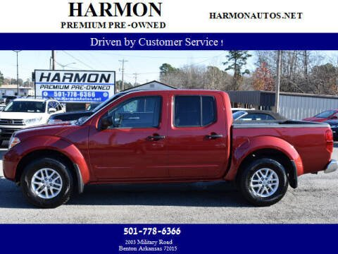 2019 Nissan Frontier for sale at Harmon Premium Pre-Owned in Benton AR