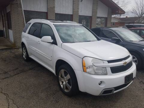 2008 Chevrolet Equinox for sale at David Shiveley in Mount Orab OH