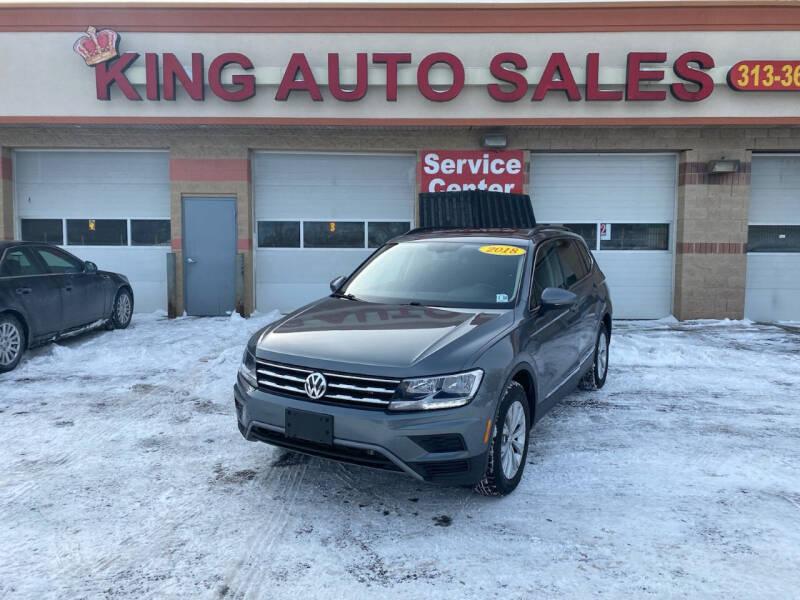 2018 Volkswagen Tiguan for sale at KING AUTO SALES  II in Detroit MI