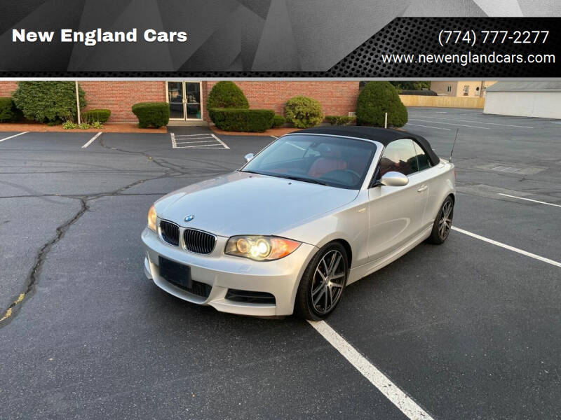 2008 BMW 1 Series for sale at New England Cars in Attleboro MA