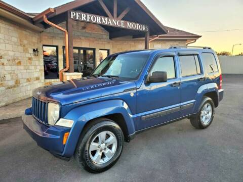 2010 Jeep Liberty for sale at Performance Motors Killeen Second Chance in Killeen TX