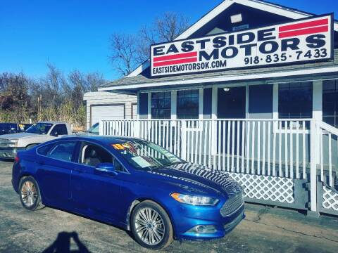 2013 Ford Fusion for sale at EASTSIDE MOTORS in Tulsa OK