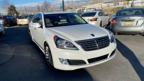 2014 Hyundai Equus for sale at CarSmart Auto Group in Murray UT