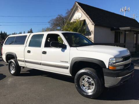 2002 Chevrolet Silverado 2500HD for sale at Three Bridges Auto Sales in Fair Oaks CA