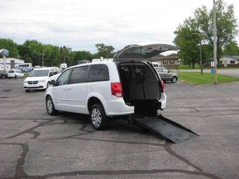 2016 Dodge Grand Caravan for sale at McCrocklin Mobility in Middletown IN