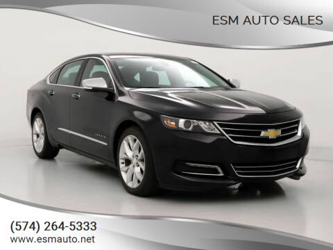 2018 Chevrolet Impala for sale at ESM Auto Sales in Elkhart IN