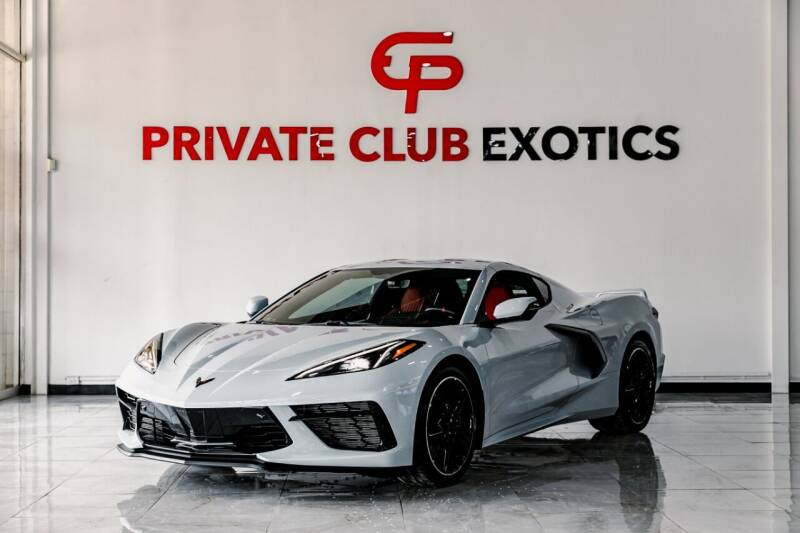 2021 Chevrolet Corvette for sale at Private Club Motors in Houston TX