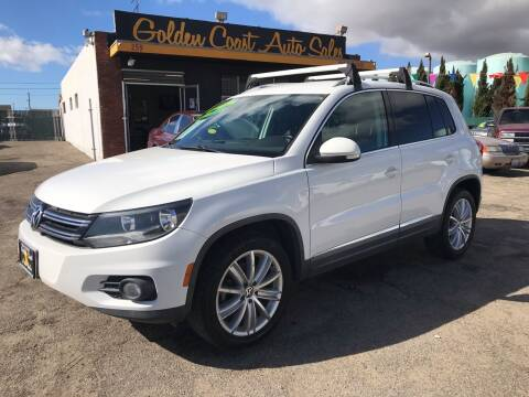 2012 Volkswagen Tiguan for sale at Golden Coast Auto Sales in Guadalupe CA