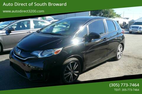 2016 Honda Fit for sale at Auto Direct of South Broward in Miramar FL