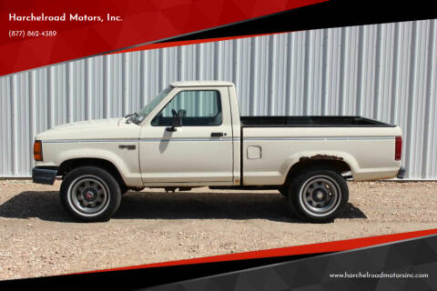 1989 Ford Ranger for sale at Harchelroad Motors, Inc. in Wauneta NE