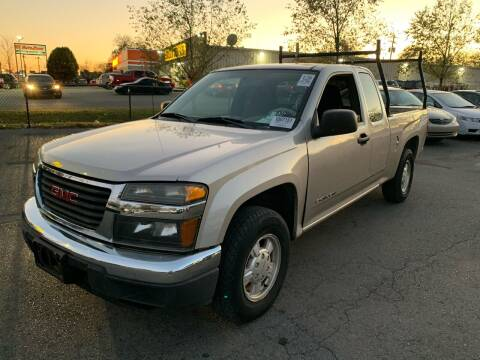 2005 GMC Canyon for sale at Diana Rico LLC in Dalton GA