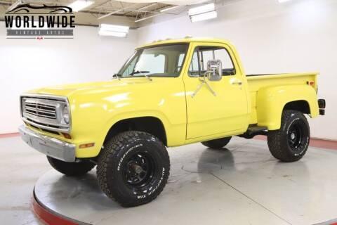 1972 Dodge D100 Pickup
