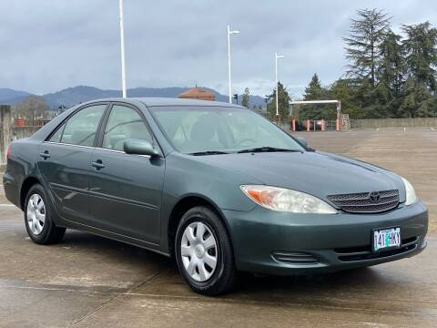 2002 Toyota Camry for sale at Rave Auto Sales in Corvallis OR