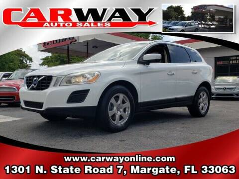 2011 Volvo XC60 for sale at CARWAY Auto Sales in Margate FL