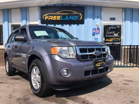 2008 Ford Escape for sale at Freeland LLC in Waukesha WI