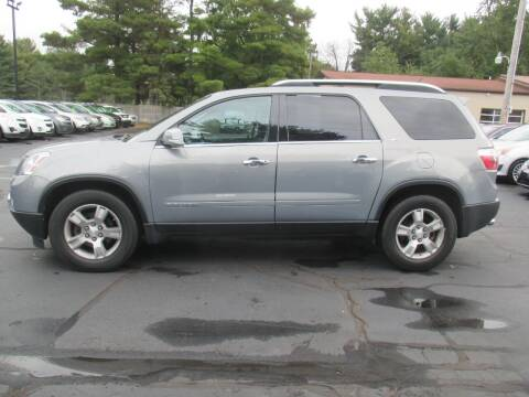 2008 GMC Acadia for sale at Home Street Auto Sales in Mishawaka IN