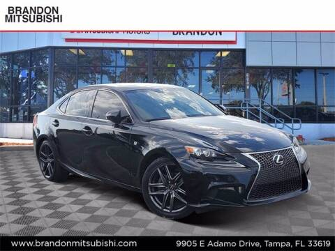 2015 Lexus IS 250 for sale at Brandon Mitsubishi in Tampa FL