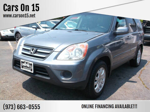 2006 Honda CR-V for sale at Cars On 15 in Lake Hopatcong NJ