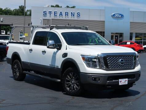 2017 Nissan Titan XD for sale at Stearns Ford in Burlington NC