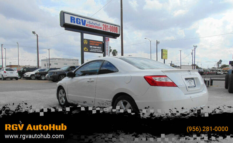 2007 Honda Civic for sale at RGV AutoHub in Harlingen TX
