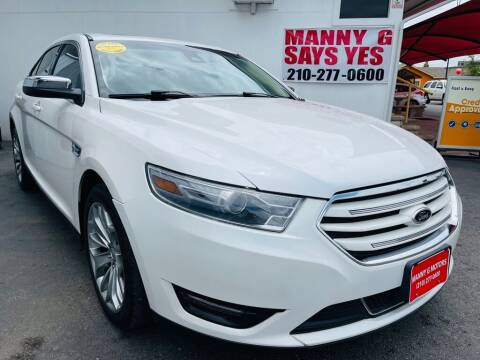 2014 Ford Taurus for sale at Manny G Motors in San Antonio TX