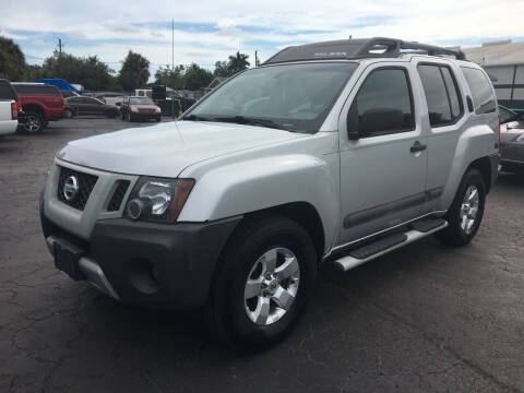 2012 Nissan Xterra for sale at CAR-RIGHT AUTO SALES INC in Naples FL