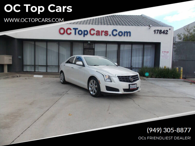 2013 Cadillac ATS for sale at OC Top Cars in Irvine CA