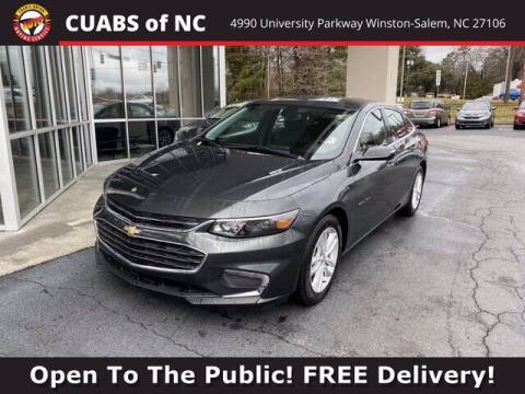 2018 Chevrolet Malibu for sale at Credit Union Auto Buying Service in Winston Salem NC