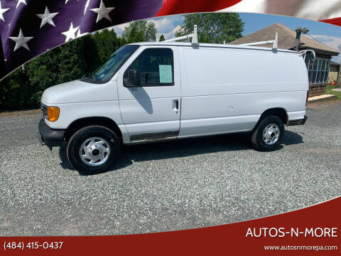 2006 Ford E-Series Cargo for sale at Autos-N-More in Gilbertsville PA