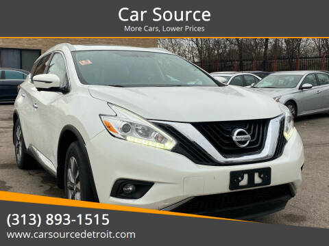 2016 Nissan Murano for sale at Car Source in Detroit MI
