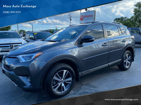 2016 Toyota RAV4 for sale at Mass Auto Exchange in Framingham MA