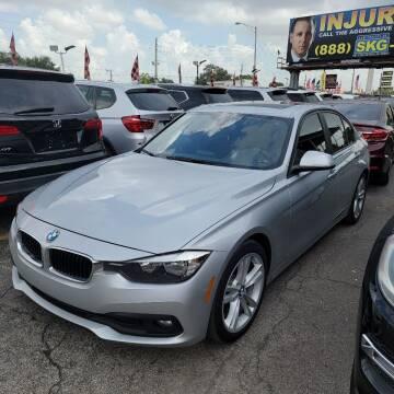 2016 BMW 3 Series for sale at America Auto Wholesale Inc in Miami FL