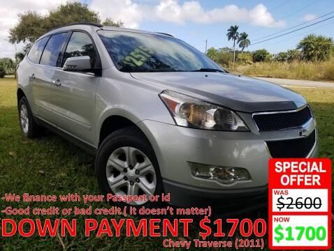 2011 Chevrolet Traverse for sale at AUTO COLLECTION OF SOUTH MIAMI in Miami FL