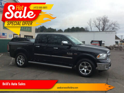2015 RAM Ram Pickup 1500 for sale at Brill's Auto Sales in Westfield MA