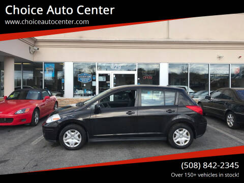 2010 Nissan Versa for sale at Choice Auto Center in Shrewsbury MA