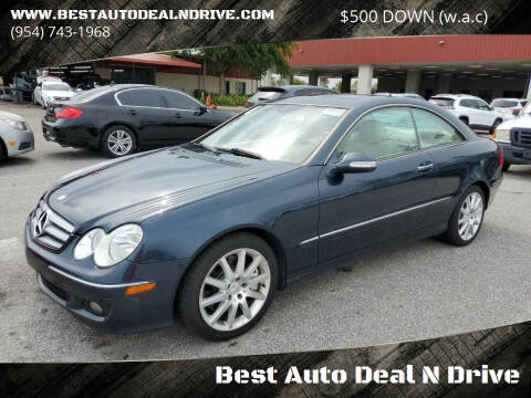 2007 Mercedes-Benz CLK for sale at Best Auto Deal N Drive in Hollywood FL
