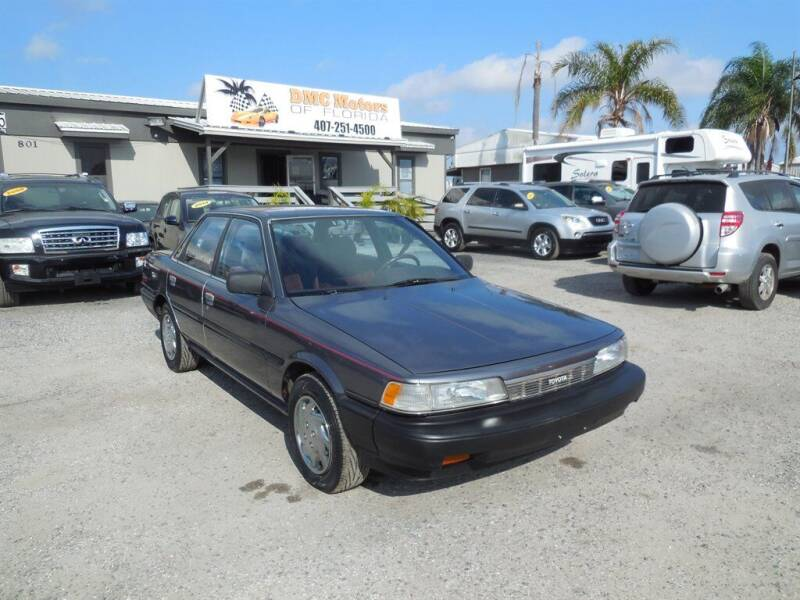1987 Toyota Camry for sale at DMC Motors of Florida in Orlando FL