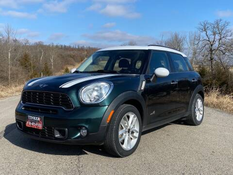2012 MINI Cooper Countryman for sale at TINKER MOTOR COMPANY in Indianola OK