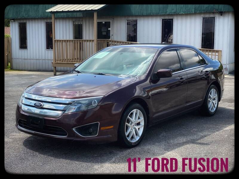 2011 Ford Fusion for sale at ASTRO MOTORS in Houston TX