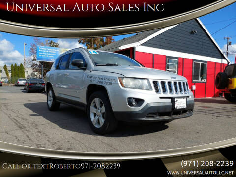 2014 Jeep Compass for sale at Universal Auto Sales Inc in Salem OR