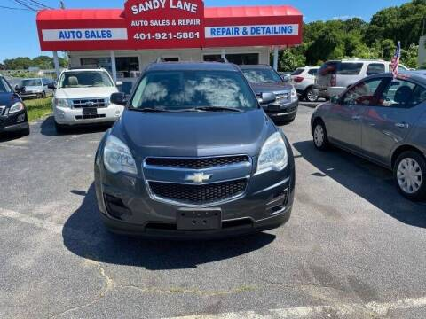 2010 Chevrolet Equinox for sale at Sandy Lane Auto Sales and Repair in Warwick RI