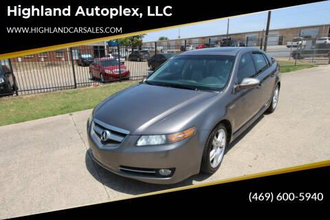 2007 Acura TL for sale at Highland Autoplex, LLC in Dallas TX