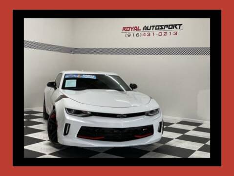2018 Chevrolet Camaro for sale at Royal AutoSport in Sacramento CA