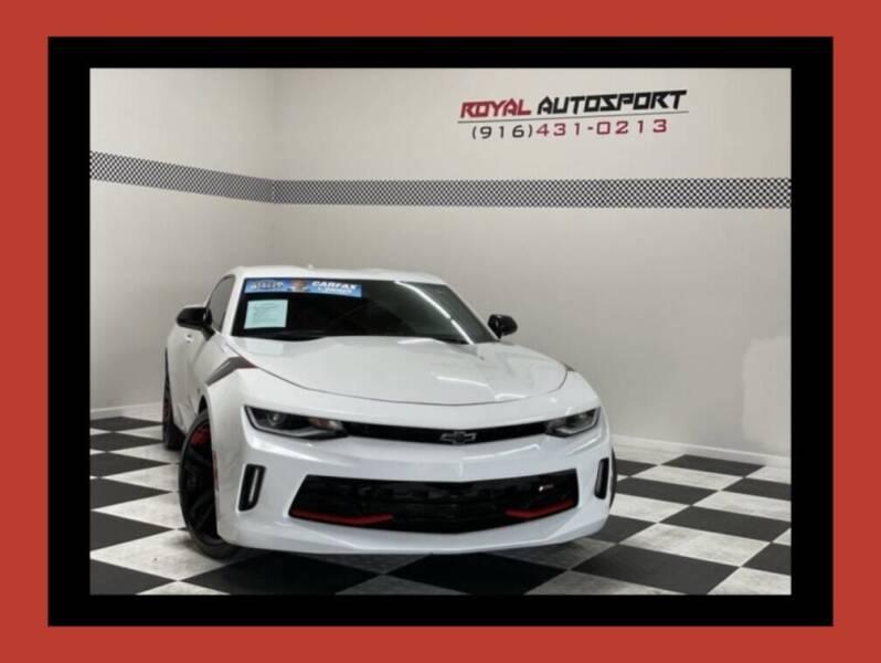 2018 Chevrolet Camaro for sale at Royal AutoSport in Sacramento CA
