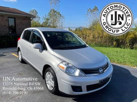 2012 Nissan Versa for sale at IJN Automotive Group LLC in Reynoldsburg OH