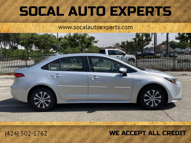 2021 Toyota Corolla Hybrid for sale in Culver City, CA
