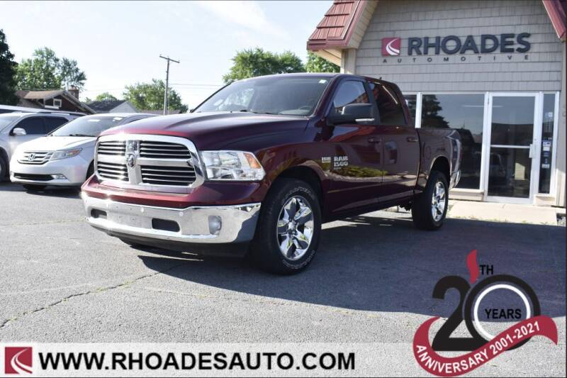 2019 RAM Ram Pickup 1500 Classic for sale at Rhoades Automotive in Columbia City IN