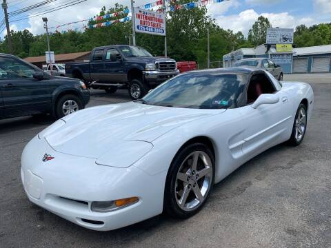 1998 Chevrolet Corvette for sale at INTERNATIONAL AUTO SALES LLC in Latrobe PA