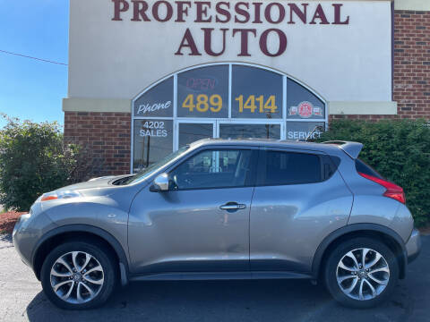 2013 Nissan JUKE for sale at Professional Auto Sales & Service in Fort Wayne IN