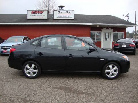 2007 Hyundai Elantra for sale at G and G AUTO SALES in Merrill WI